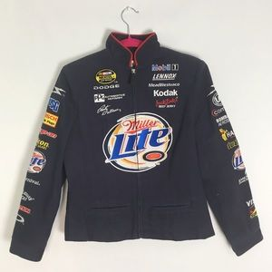 Miller Lite Rusty Wallace Chase Authentics Jacket